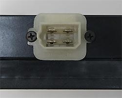 Приборный 4 контактный разъём светодиодного маршрутного указателя